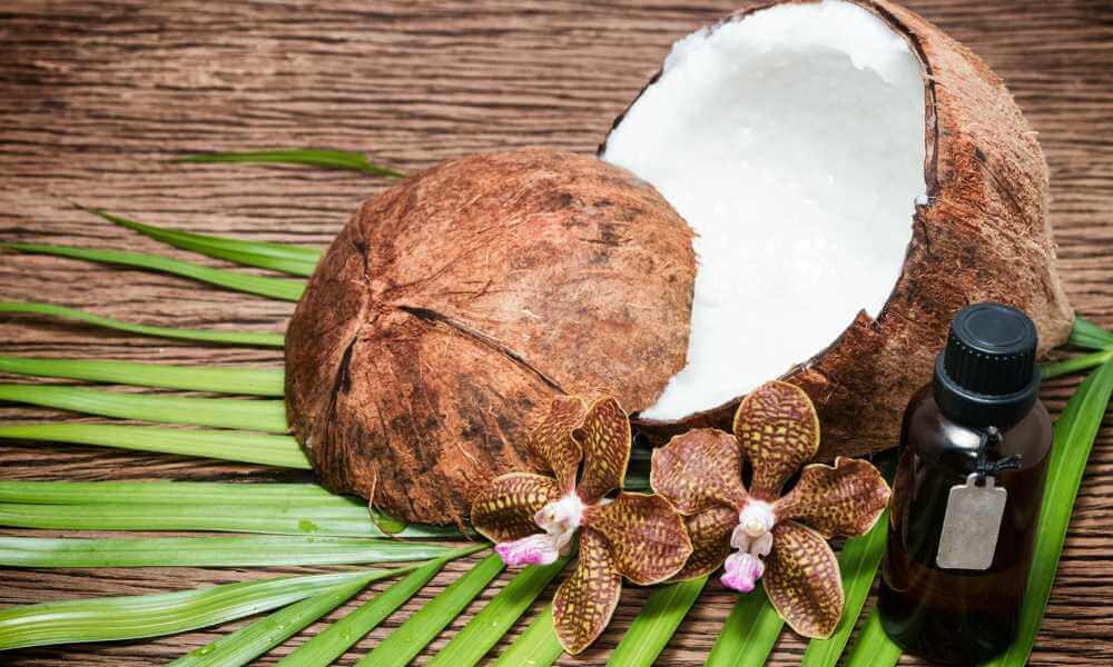 Benefits of Pure Coconut Oil on Skin